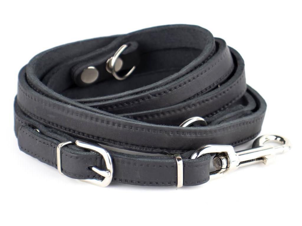 Lux černé přepínací vodítko pro psa | 230 cm
