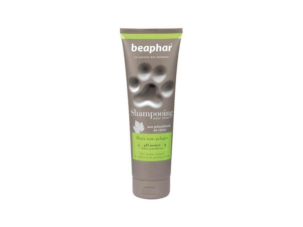 Beaphar superpremiový šampon pro všechny druhy srsti 250 ml - vsepropejska.cz