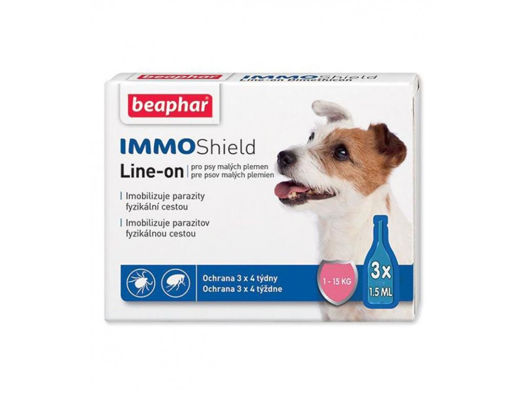 Antiparazitní pipetka Line-on IMMO Shield 3 x 1,5 ml - vsepropejska.cz