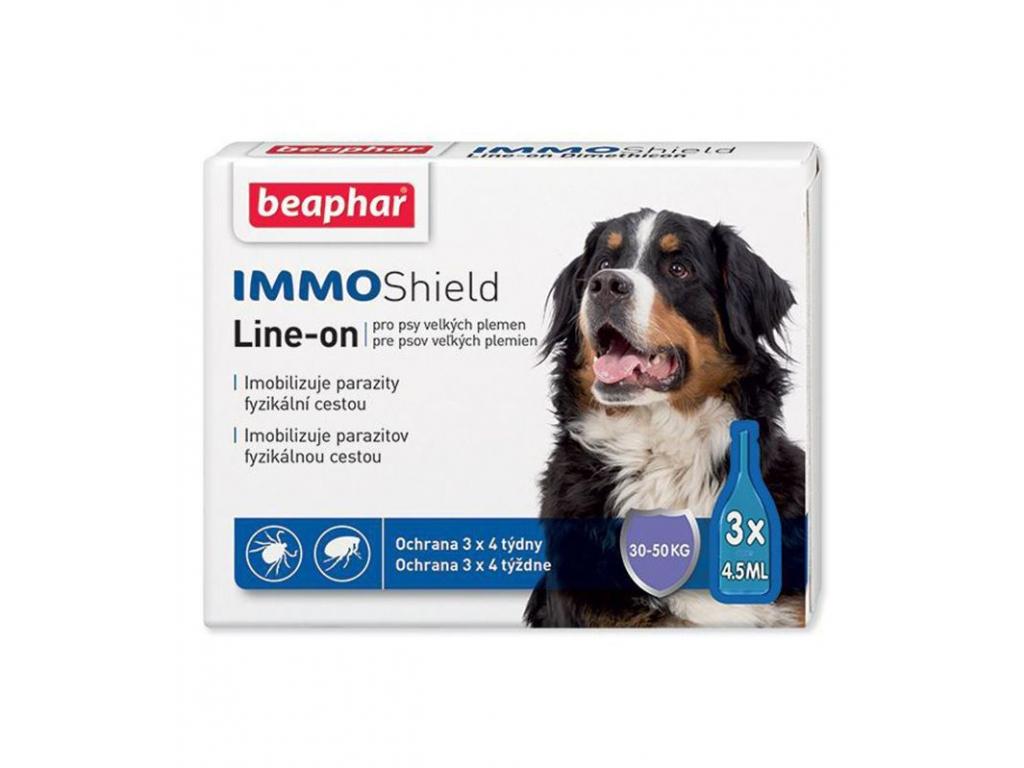 Beaphar antiparazitní pipetka Line-on IMMO Shield 3 x 4,5 ml - vsepropejska.cz