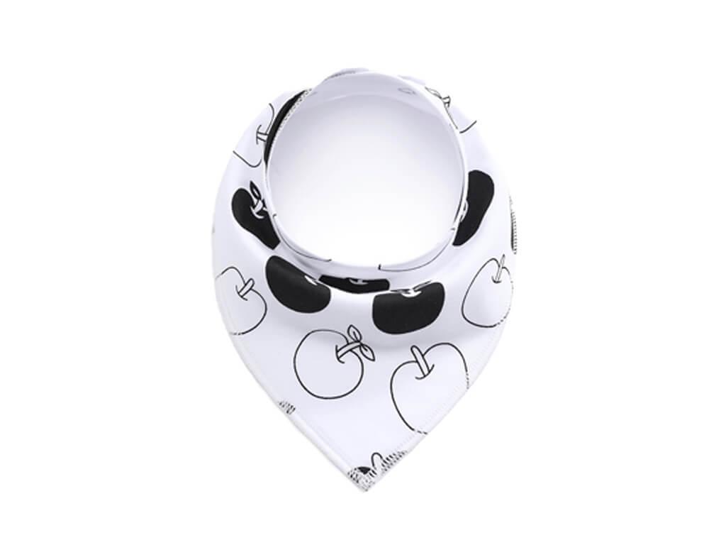 Apple bílý šátek pro psa - šátek pro psa - vsepropejska.czp86