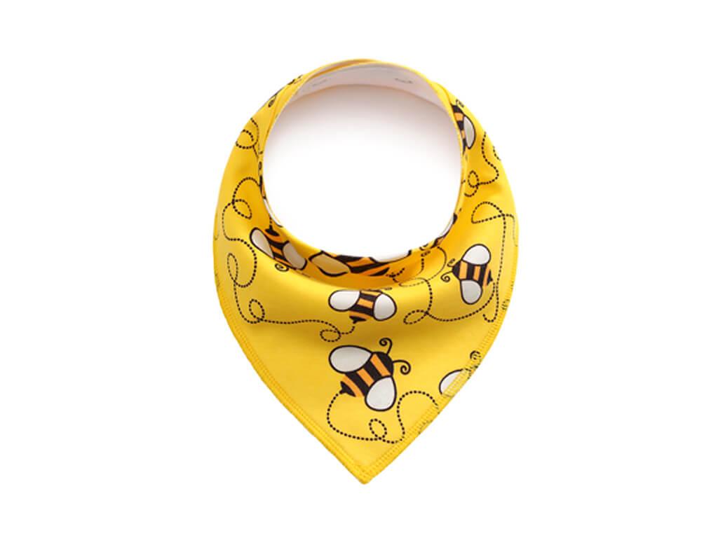 Bee žlutý šátek pro psa - šátky pro psy - vsepropejska.cz