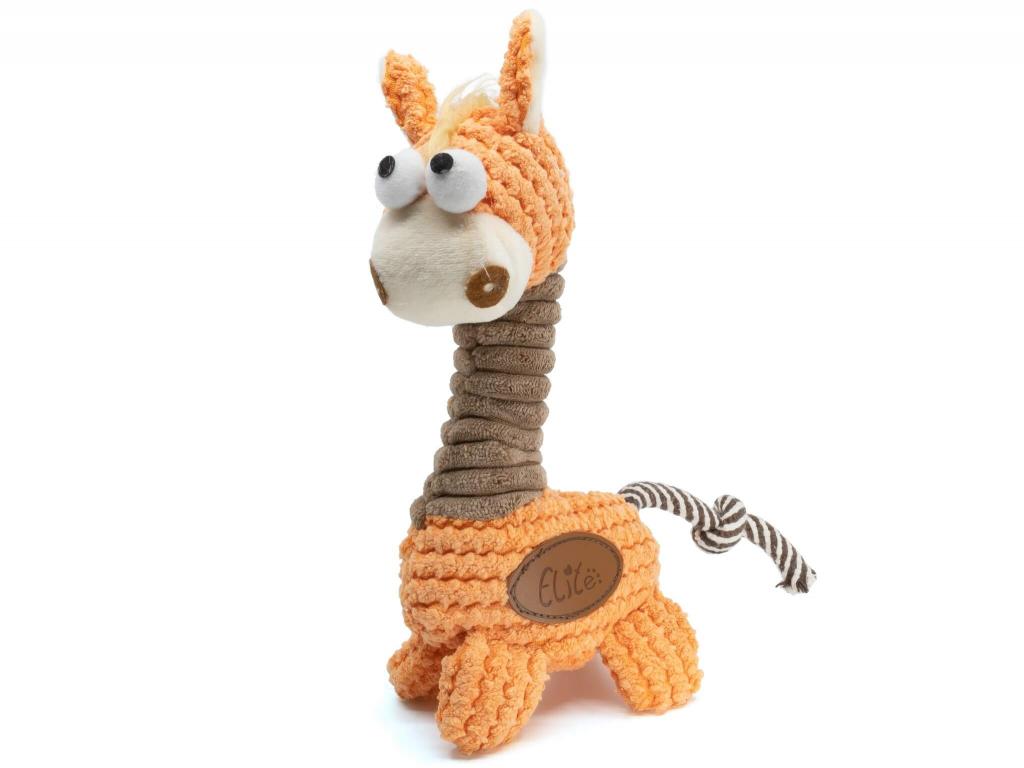 Žaky plyšová žirafa pro psa - hračky pro psy - vsepropejska.cz