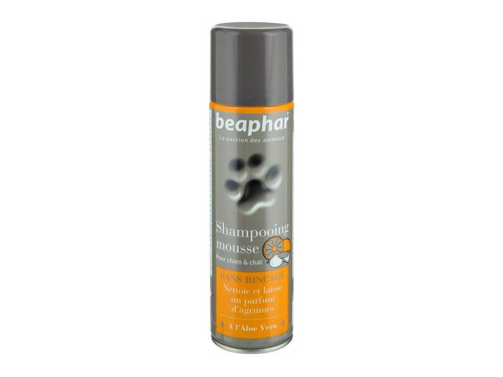 Beaphar šamponová pěna s Aloe Vera 250 ml - vsepropejska.cz