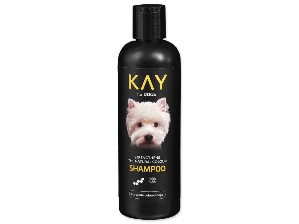 KAY šampon pro bílou srst 250 ml - vsepropejska.cz