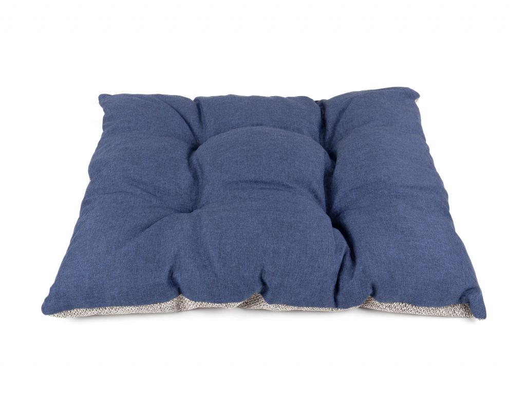 Luxi tmavě modrý polštář pro psa