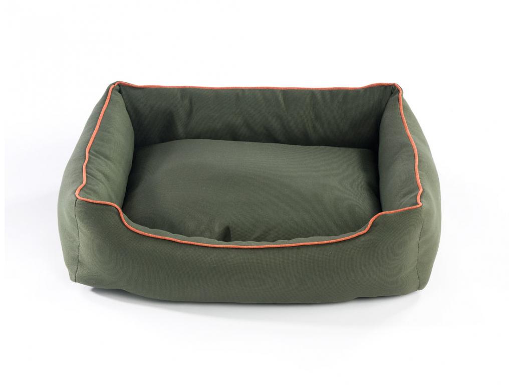 Comfort tmavě zelený pelech pro psa - vsepropejska.cz