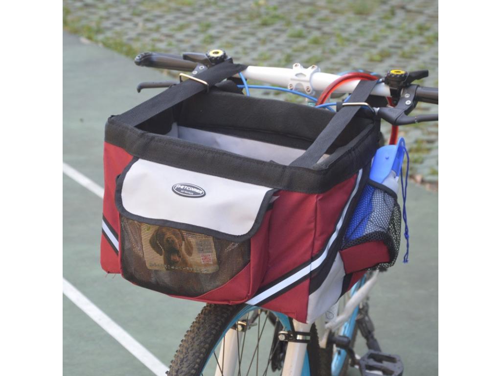 Mike vínový košík na kolo pro psa - vsepropejska.cz