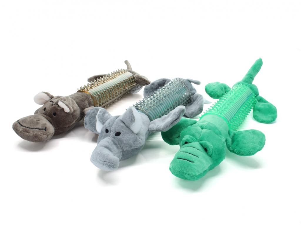 Alda dentální plyšová hračka pro psa - dentální hračky pro psy - vsepropejska.cz