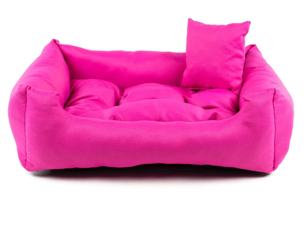 Lux světle růžový pelech pro psa - pelechy pro psy - vsepropejska.cz