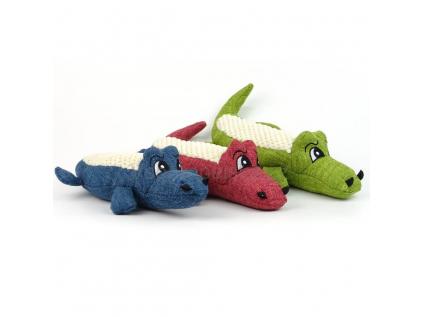 Croko plyšový krokodýl pro psa   20 cm - hračky pro psy - vsepropejska.cz