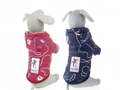 Nicole teplá bunda pro psa s kapucí - bundy pro psy - vsepropejska.cz