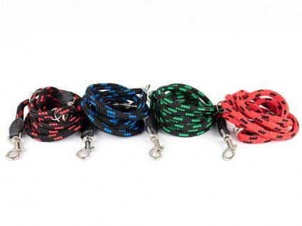 Rope přepínací vodítko pro psa z lana | 220 cm