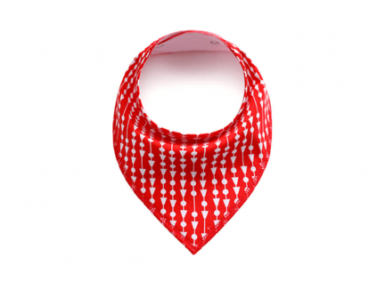 Dash červený šátek pro psa - šátky pro psy - vsepropejska.cz