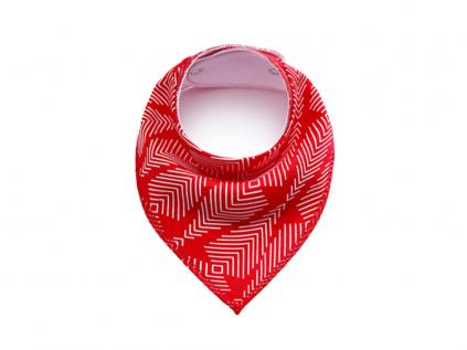 Red červený šátek pro psa - šátky pro psy - vsepropejska.cz