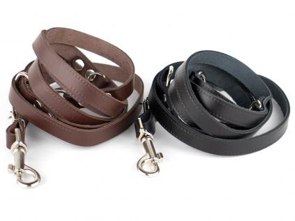 Leather kožené přepínací vodítko pro psa | 220cm