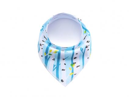 Twig modrý šátek pro psa - šátky pro psy - vsepropejska.cz