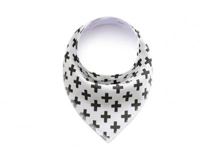 Cross bílý šátek pro psa - šátky pro psy - vsepropejska.cz