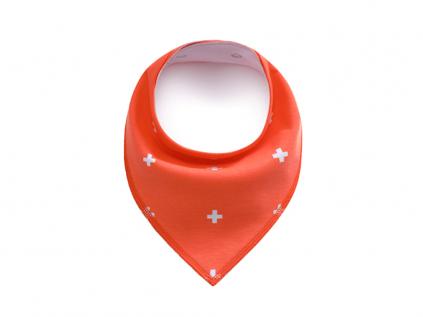 Cross oranžový šátek pro psa - šátek pro psy - vsepropejska.cz