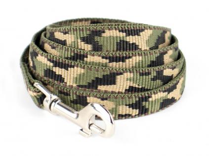 Army zelené vodítko pro psa | 130 cm