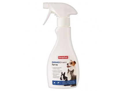 Beaphar antiparazitní sprej IMMO Shield Spray 250 ml - vsepropejska.cz