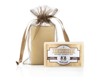 Silky soft tuhý šampon s bambuckým máslem pro štěňata - vsepropejska.cz