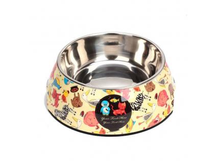 animal miska pro psa s potiskem