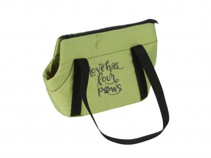 Lily zelená taška pro psa - vsepropejska.cz
