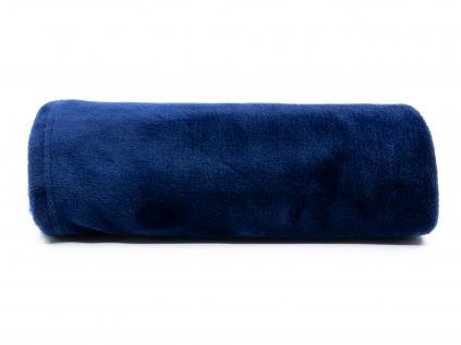 Ella tmavě modrá deka pro psa - deky pro psy - vsepropejska.cz