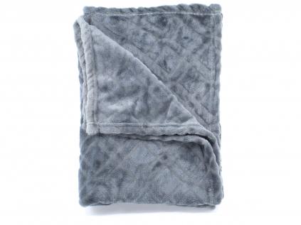 Ella šedá fleecová deka pro psa  - deky pro psy - vsepropejska.cz