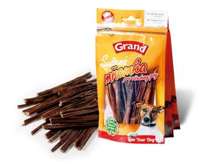 Grand sušená vepřová střívka pro psa   3 x 50g - vsepropejska.cz