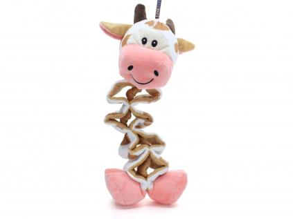 Kuku plyšová kráva pro psa   37 cm - pískací hračka pro psa - vsepropejska.cz