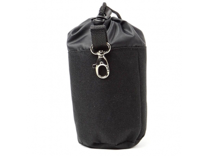 Spok černý pamlskovník s karabinou pro psa