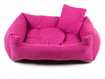 Lux růžový pelech pro psa - pelechy pro psy - vsepropejska.cz