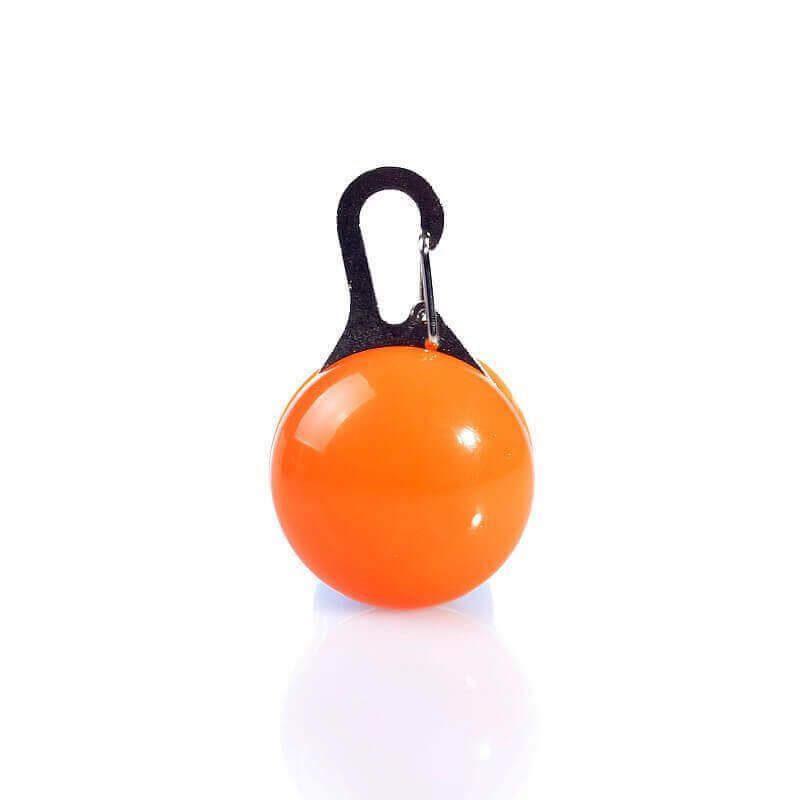 Vsepropejska LED svítící přívěšek pro psa Barva: Oranžová