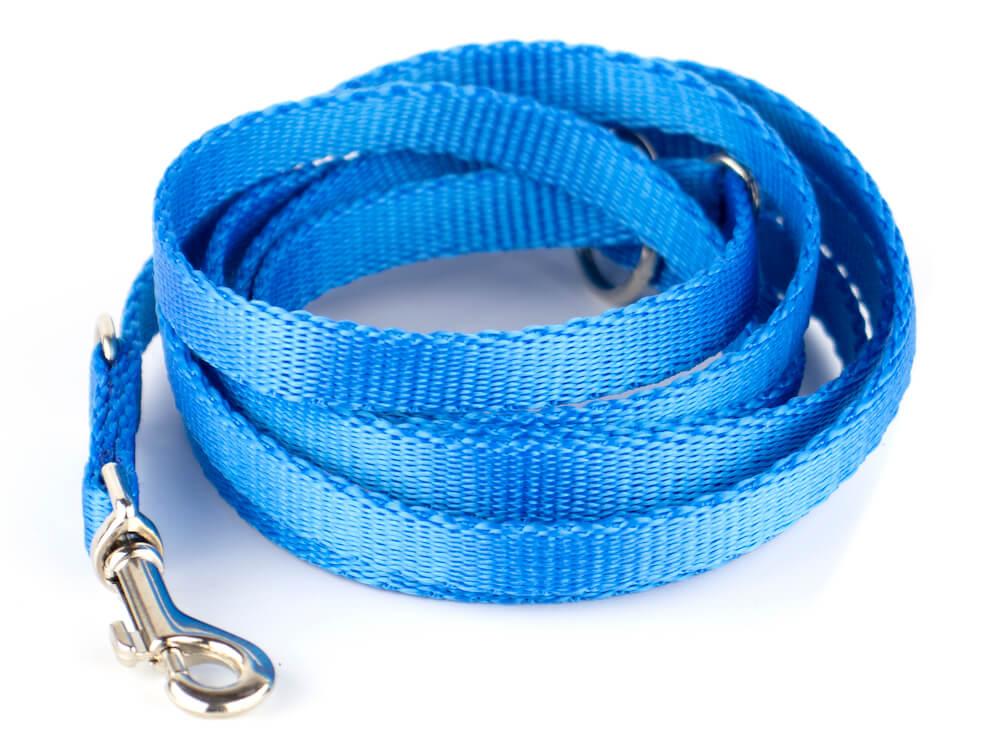 Levně Vsepropejska Classic přepínací vodítko pro psa | 220 cm Barva: Modrá
