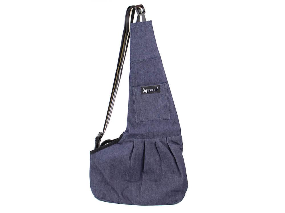 Levně Vsepropejska TailUp taška pro psa Barva: Modrá, Dle váhy psa: do 3,5 kg