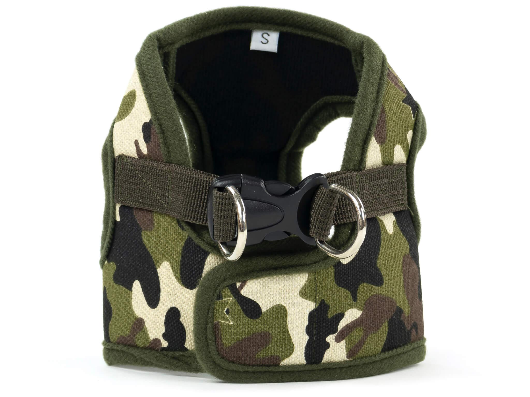 Vsepropejska War maskáčové kšíry pro psa | 27 – 60 cm Barva: Maskáčová, Obvod hrudníku: 32 - 39 cm