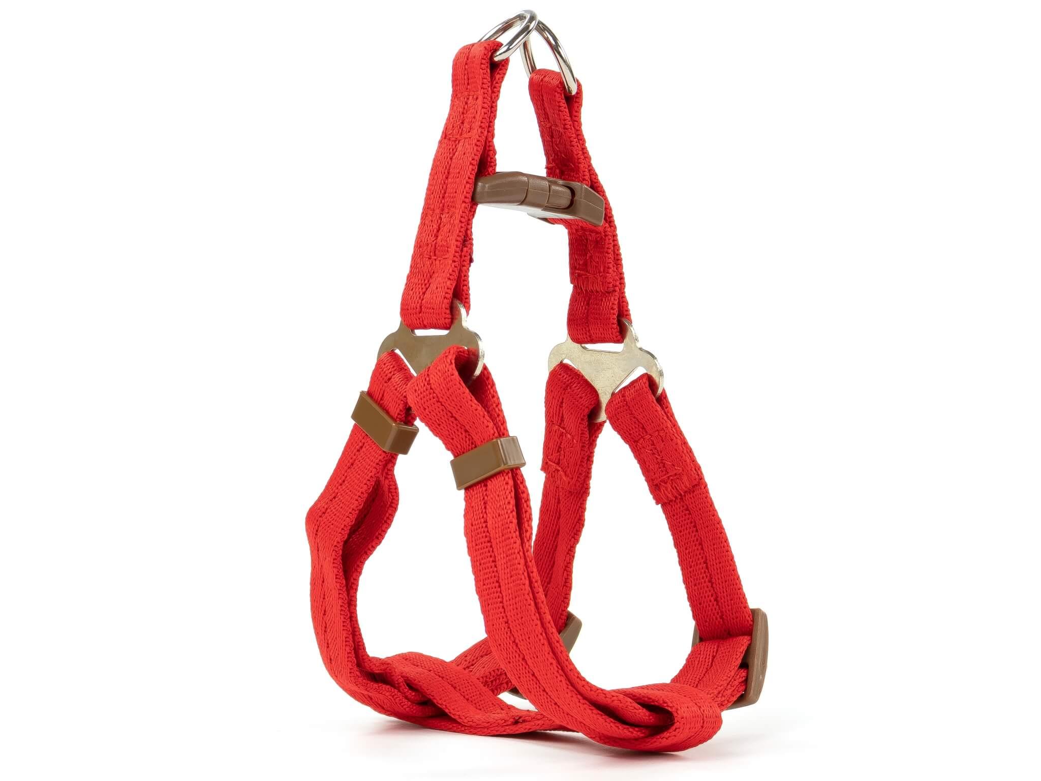 Hook kšíry pro psa s vodítkem | 28 – 60 cm Barva: Červená, Obvod hrudníku: 44 - 60 cm
