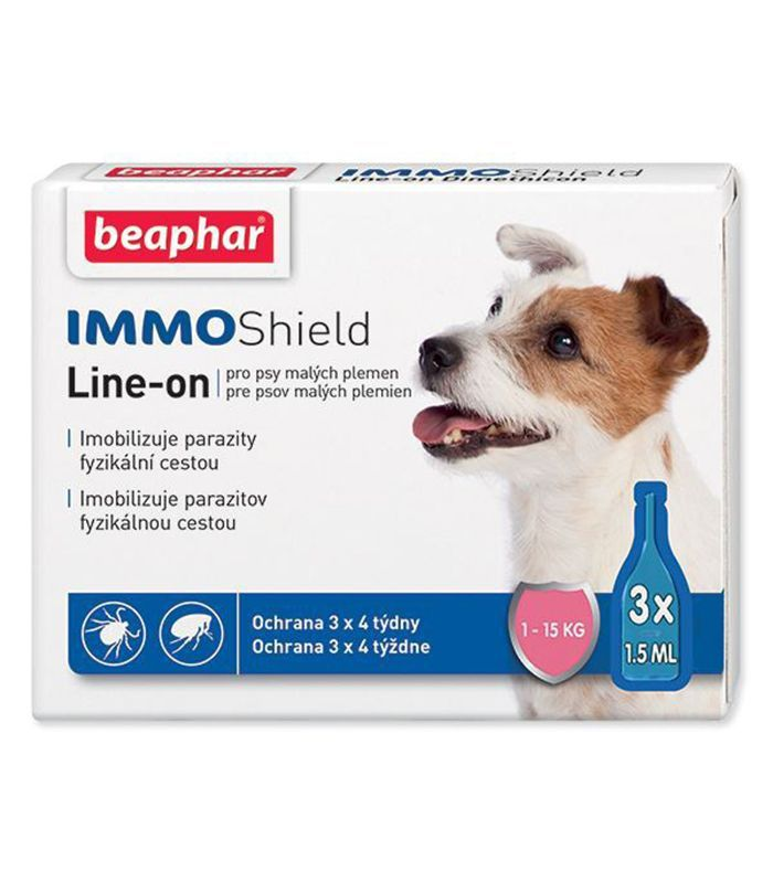Beaphar Beapahar antiparazitní pipetka Line-on IMMO Shield 3 x 1,5 ml