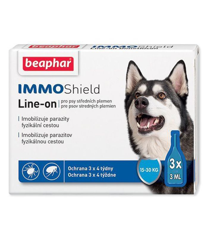 Beaphar antiparazitní pipetka Line-on IMMO Shield 3 x 3 ml