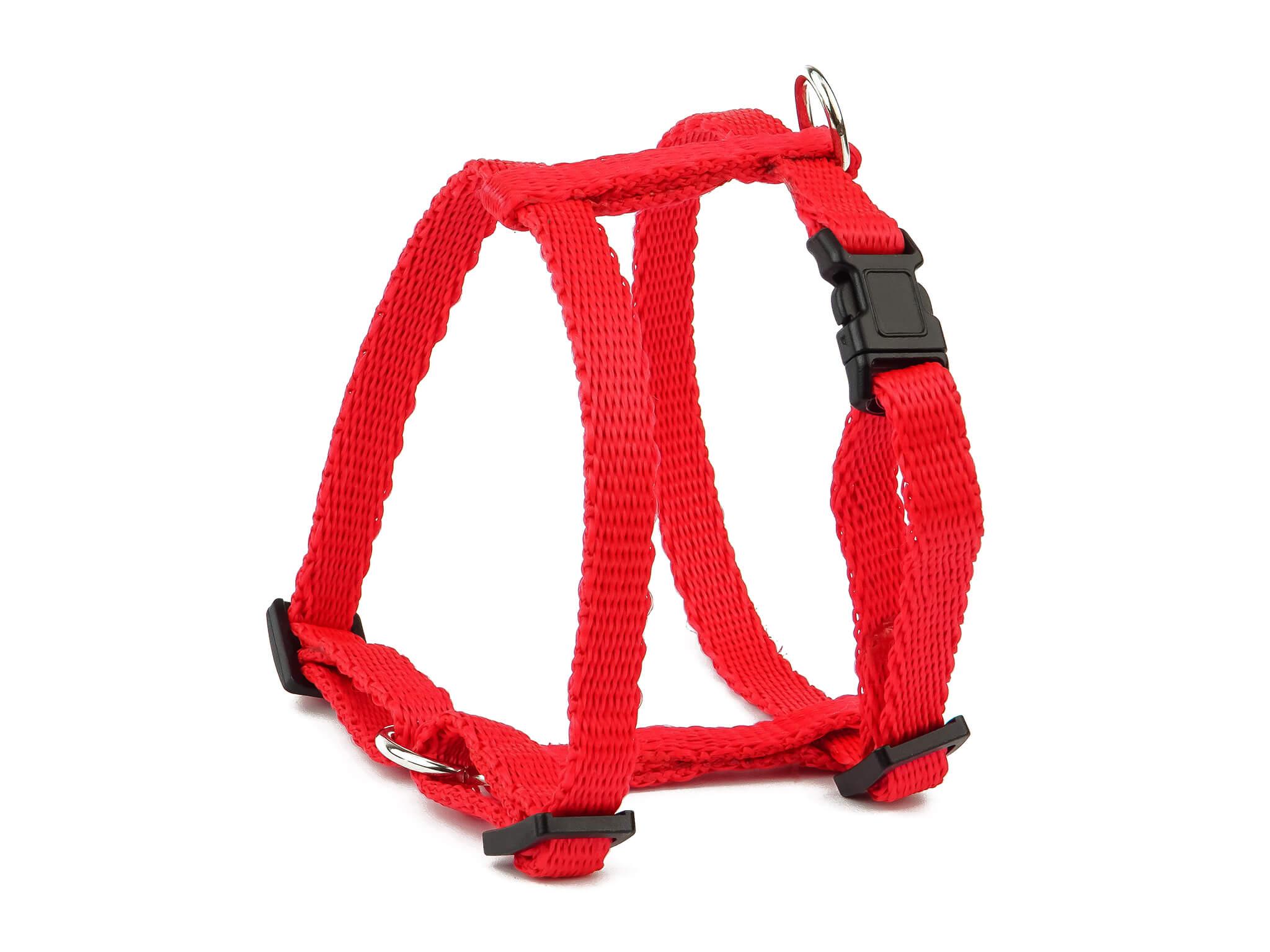 Levně Vsepropejska Standard postroj pro psa | 22 – 63 cm Barva: Červená, Obvod hrudníku: 38 - 63 cm