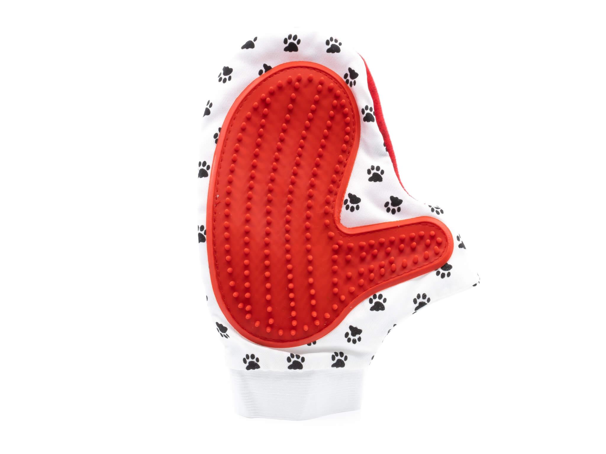 Vsepropejska Glove rukavice vyčesávací Barva: Červená