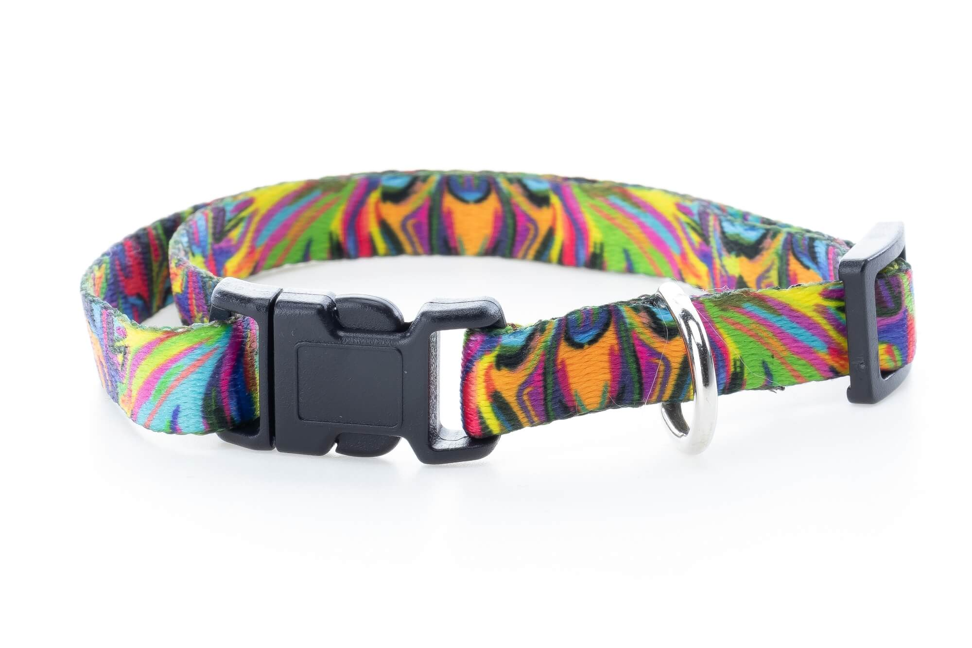 Vsepropejska Manet obojek pro psa | 22 - 38 cm Barva: Černá