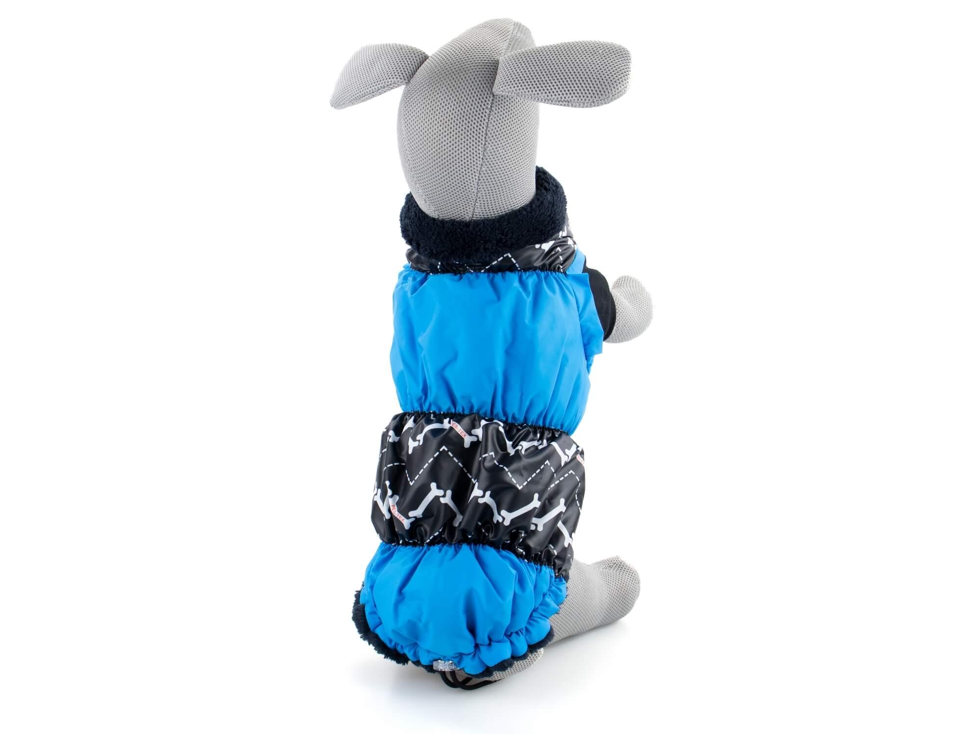 Pes-tex Alexa zimní bunda pro psa Barva: Modrá, Délka zad psa: 23 - 28 cm, Obvod hrudníku: 22 - 33 c