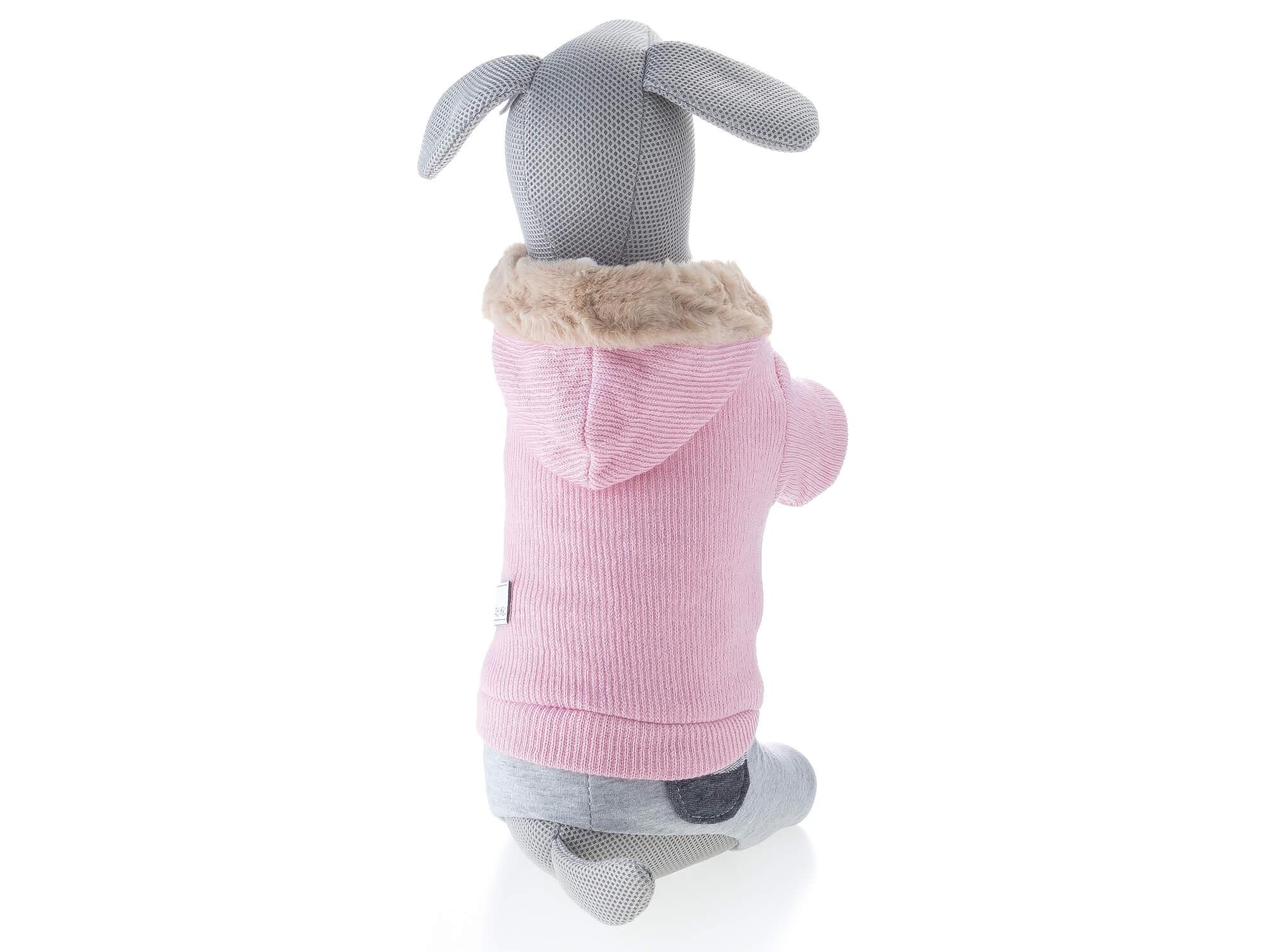 Vsepropejska Zimba kombinéza pro psa Barva: Růžová, Délka zad psa: 20 cm, Obvod hrudníku: 24 - 30 cm