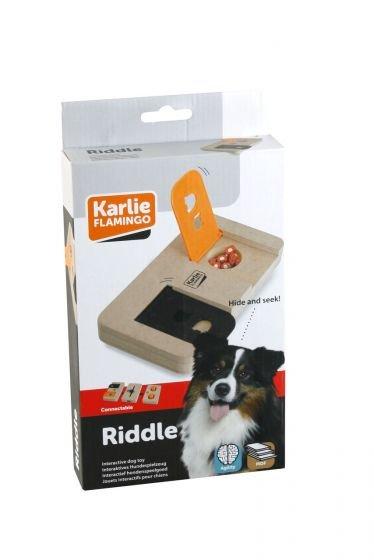 Karlie Riddle interaktivní dřevěná hračka pro psa