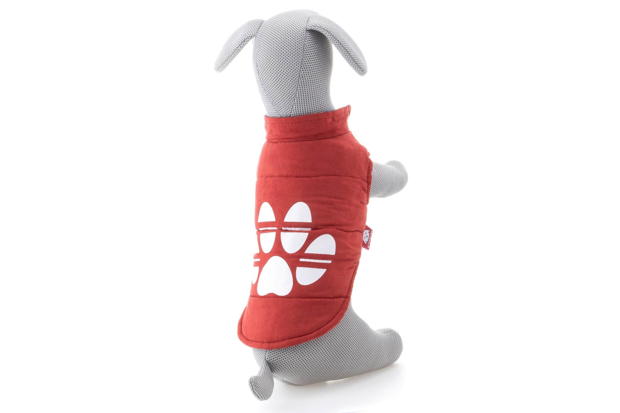 Levně Vsepropejska Judo oboustranná bunda pro psa Barva: Oranžová, Délka zad psa: 32 cm, Obvod hrudníku: 42 - 46 cm