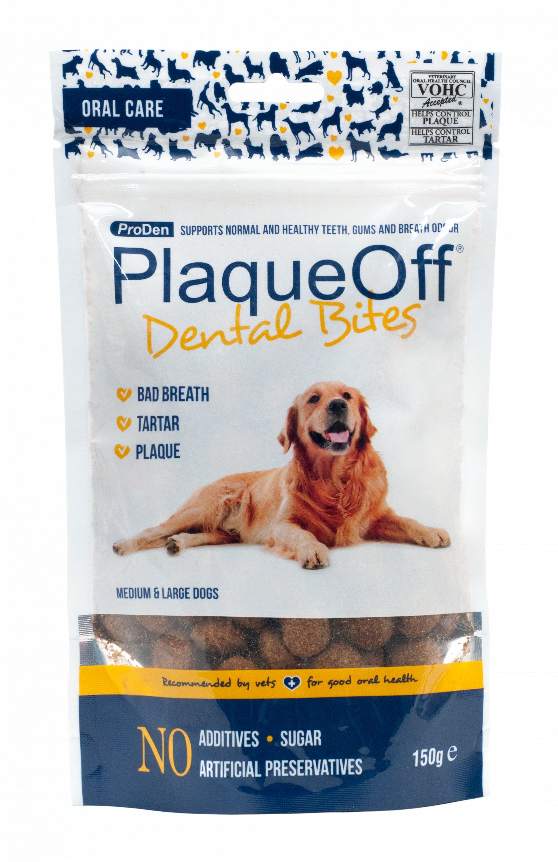 ProDen PlaqueOff™ PlaqueOff™ dentální pamlsky pro psy | 150g