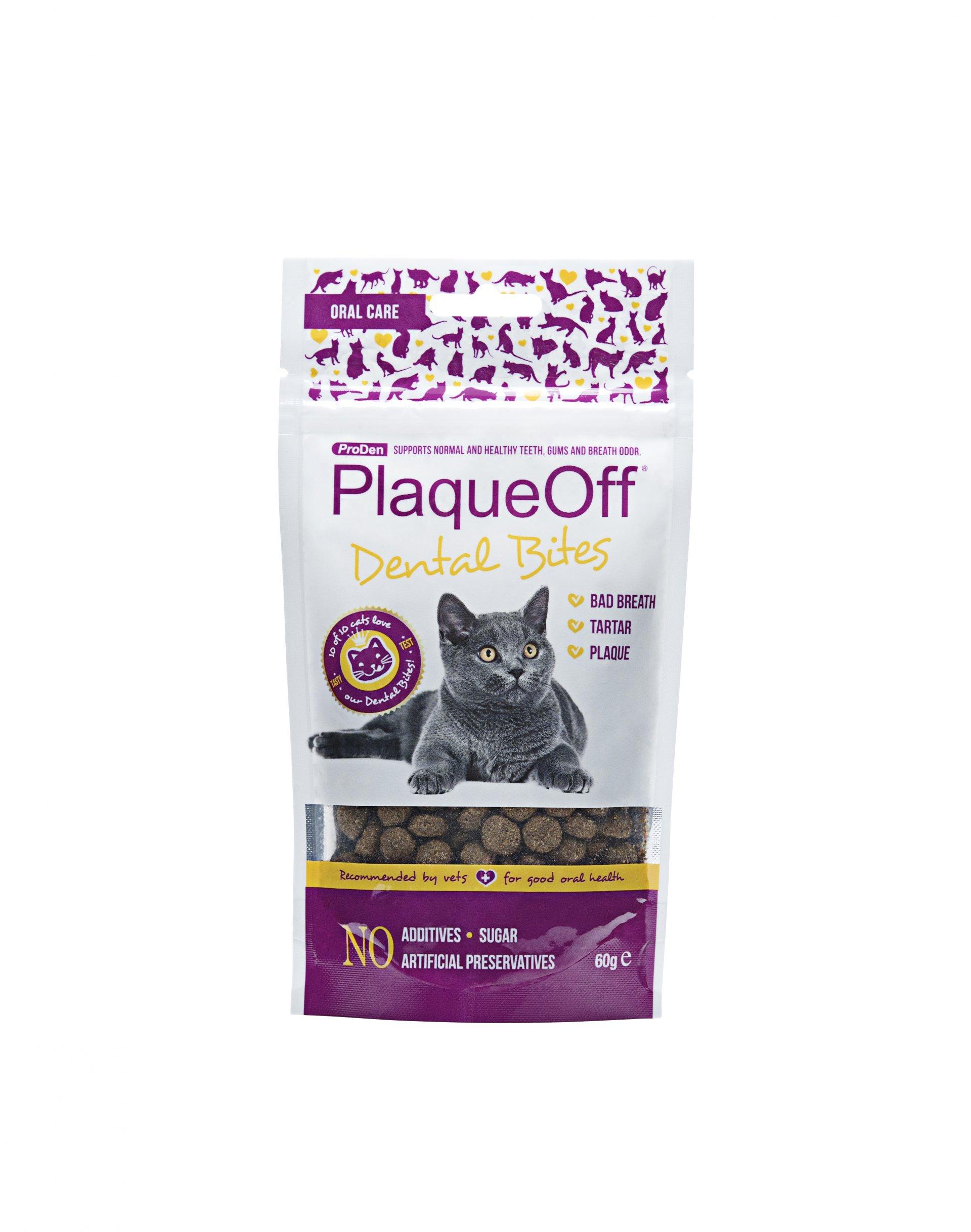 ProDen PlaqueOff™ PlaqueOff™ dentální pamlsky pro kočky | 60g